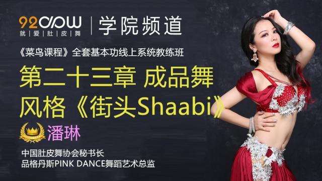 第二十三章 成品舞风格《街头Shaabi》