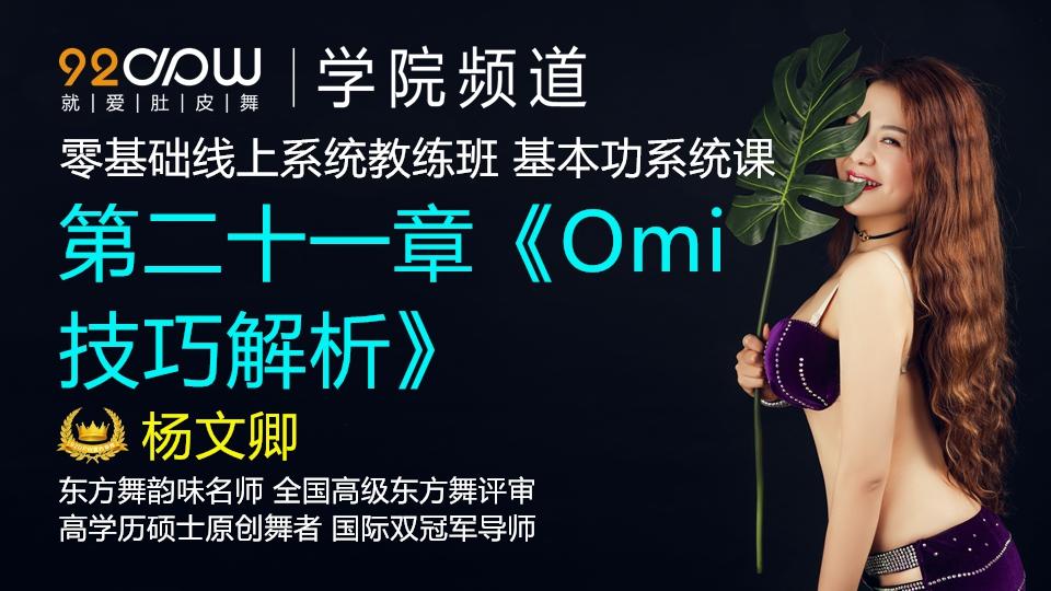 第二十一章《Omi技巧解析》